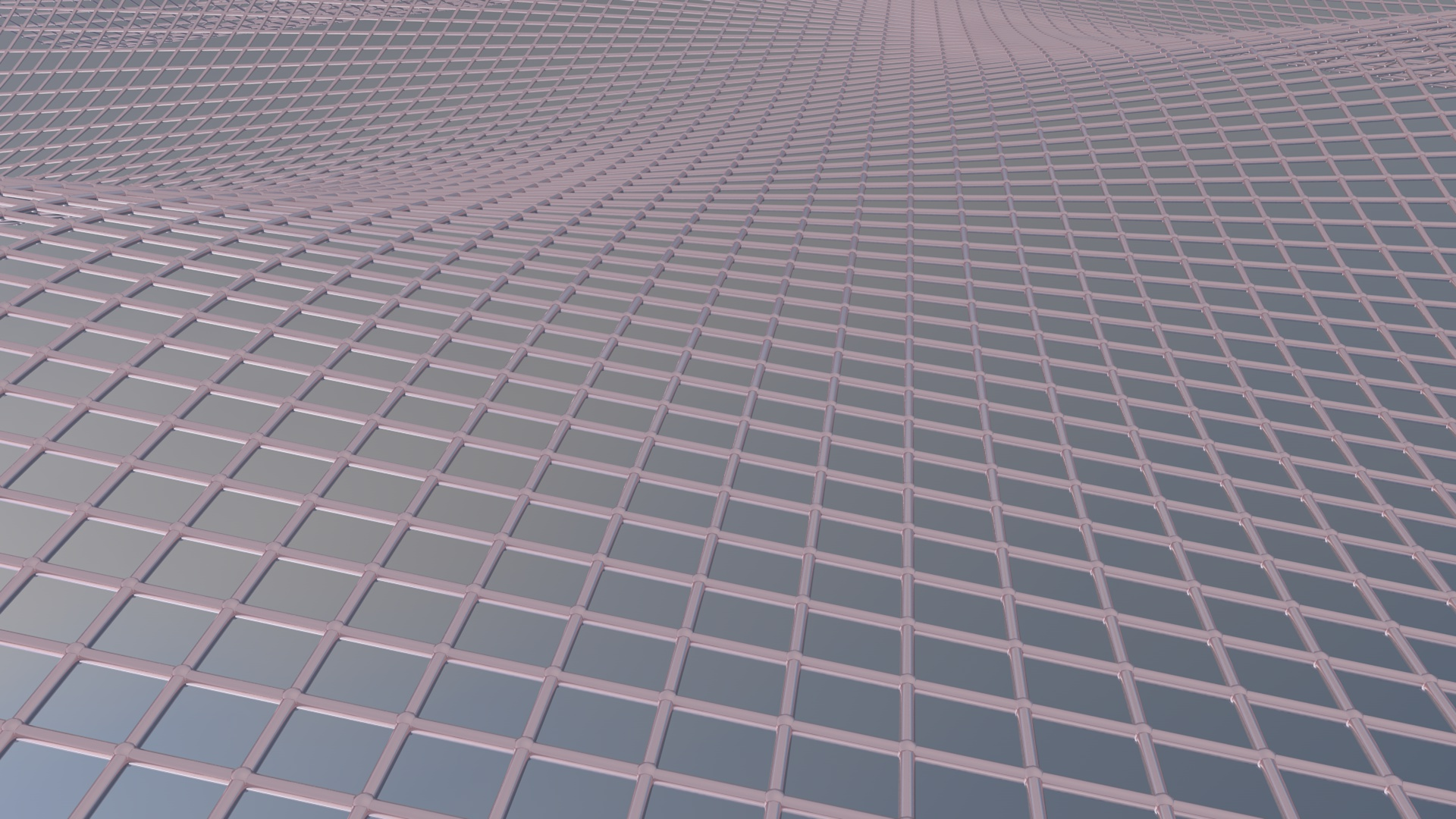 Atom Array Wave (Cinema 4D Wallpaper) - C4D4U
