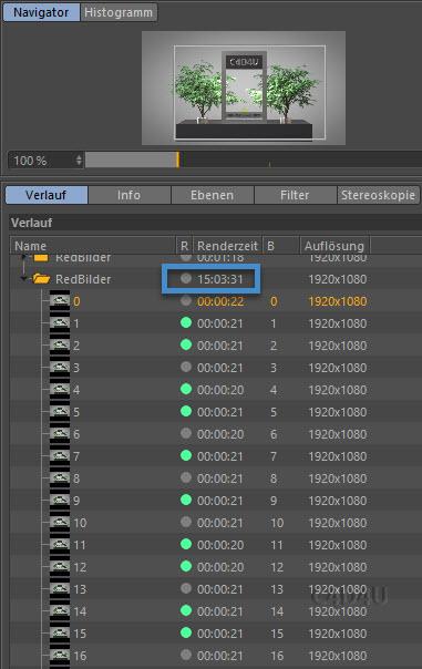Softbody Tetris V6 Render Time