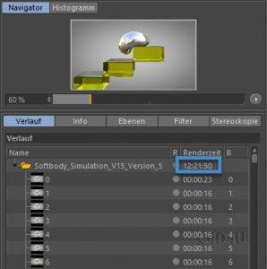 Rendertime Softbody Simulation V29