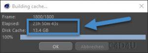 Softbody Tetris V13 RealFlow Calculation Time