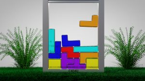 Wallpaper Softbody Tetris V10