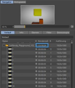 60 FPS Rendertime Softbody Playground V32